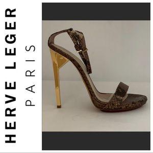 Sexy herve leger sandals